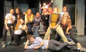 The cast of the spring play is made of 12 individuals. Six boys and six girls. (Photo from Meaghan Sullivan)