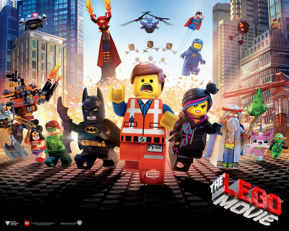 Image result for the lego movie poster