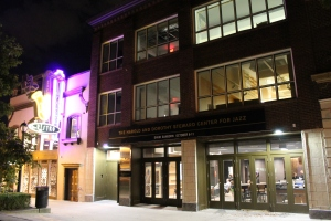 The Harold & Dorothy Steward Center for Jazz opened Oct. 2, 2014 after a $10 million renovation.  (Photo by Alex Ring)