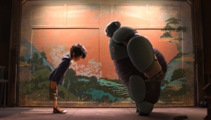 "Since its premiere Nov. 7, ""Big Hero 6"" has made $110.3 million in theaters and has an 89 percent fresh tomatoes score from Rottentomatoes.com. (Photo from Movies.Disney.com)"