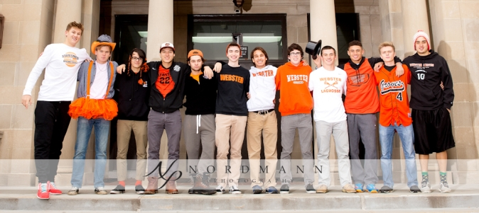 The contestants of Mr. Webster pose during one of their photo shoots. (Photo from Nordmann Photography)