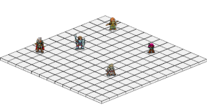 This is an isometric 3D representation in the Tactical RPG. Photo by Bouchette63 [GPL (http://www.gnu.org/licenses/gpl.html)], via Wikimedia Commons.
