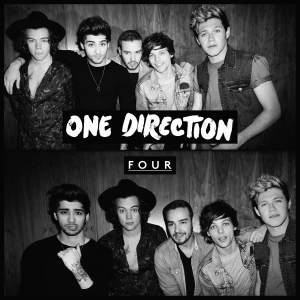 """One Directions """"Four"""" was released Nov. 17, and sold 387,000 copies its first week, according to Nielsen SoundScan. Photo from http://www.onedirectionmusic.com"""