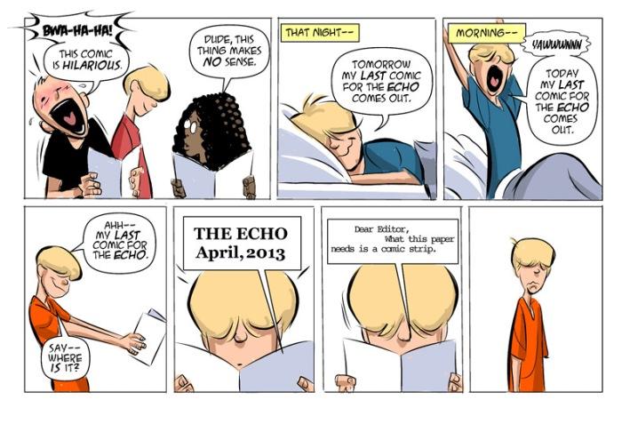 Comic by Rick Burchett and Willie Zempel