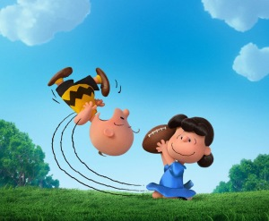 "Lucy steals the football from Charlie Brown during ""The Peanuts Movie.""(c) 2015. Distributed by McClatchy/Tribune Information Services. Photo Credit: Twentieth Century Fox/MCT"