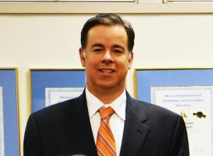 John Simpson will take over as superintendent on July 1. (Photo from Cathy Vespereny)