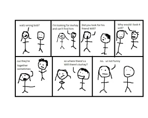 Comic by Jack Killeen.
