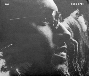 "Sol looks off into the distance on the cover of the ""Eyes Open"" EP. Photo from http://www.solsays.com/"