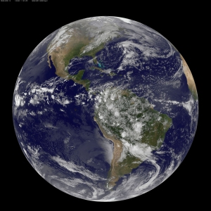 April 22, is Earth Day, and what better way to celebrate than taking a look at our home planet from space. NOAA's GOES-East satellite captured this stunning view of the Americas on Earth Day, April 22, 2014 at 11:45 UTC/ 7:45 a.m. EDT. The data from GOES-East was made into an image by the NASA/NOAA GOES Project at NASA's Goddard Space Flight Center in Greenbelt, Md. (c) 2014. NASA. Distributed by McClatchy/Tribune Information Services. Photo Credit: NASA/MCT
