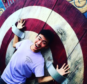 Junior Harry Fu has fun at Disney World Magic Kingdom. Photo by Abby Botan