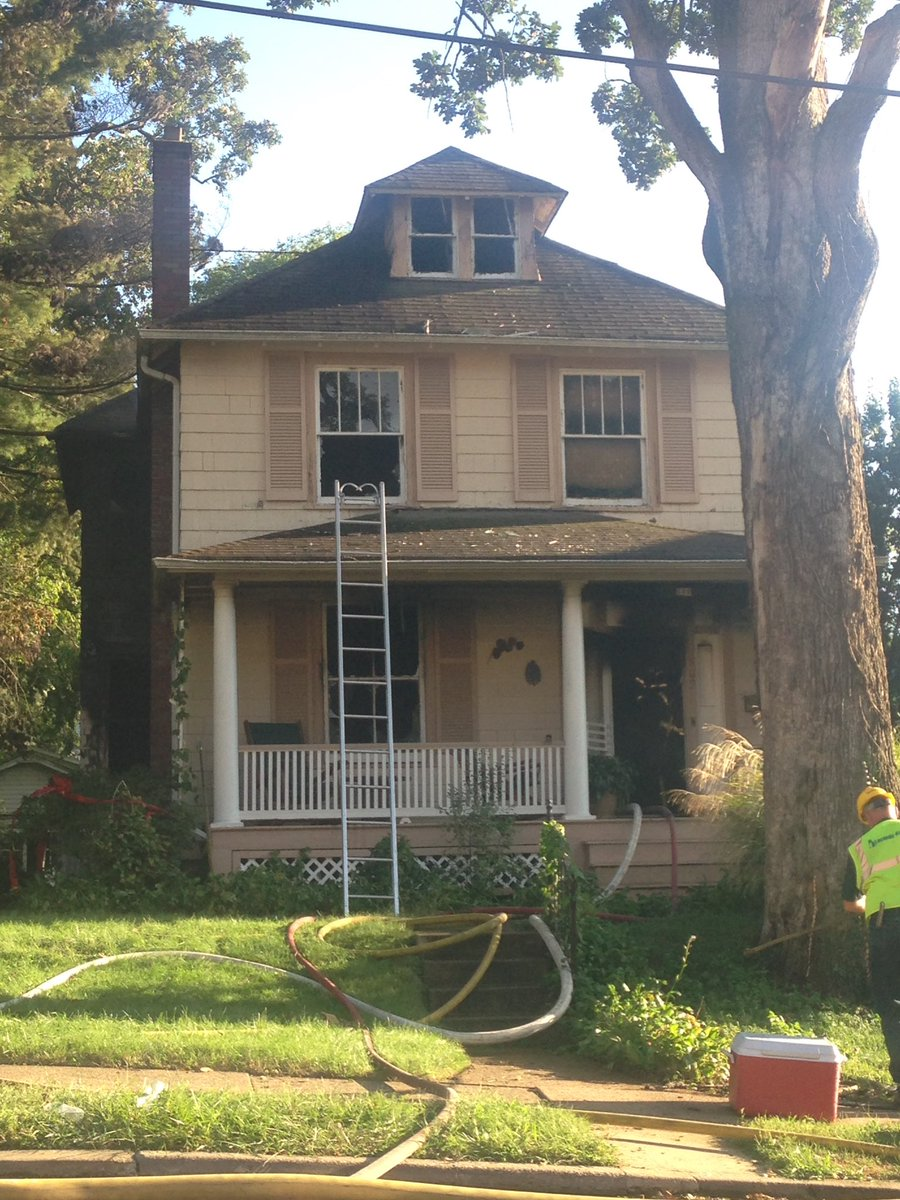 Fire departments respond to burning house near avery Avery house