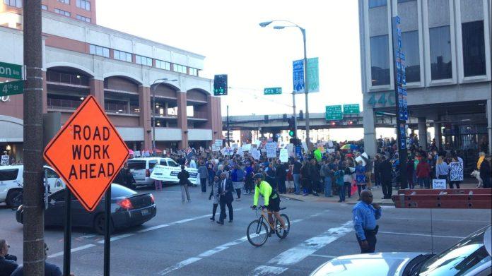 downtown-protest-keller-1