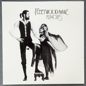 "A sample of a Stoughton Printing Co., vinyl album jacket, this is an ""old style"" gatefold, with an embossed front cover (raised lettering), and spot UV coating (high gloss coating), for the re-issue of Fleetwood Mac's, ""Rumours,"" photographed at their company headquarters in City of Industry, May 20, 2014. Stoughton is a family-run business celebrating 50 years, as is known as one of the largest printers of jackets for vinyl LP record. Photo by Jay L. Clendenin/Los Angeles Times/MCT"